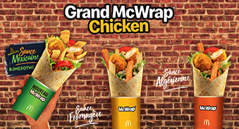 Grand Mcwrap Chicken