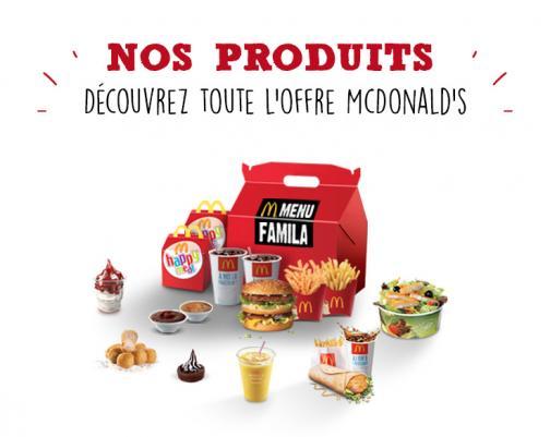 Produits McDonald's