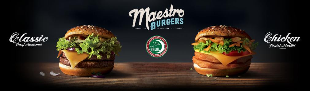 Maestros-burgers