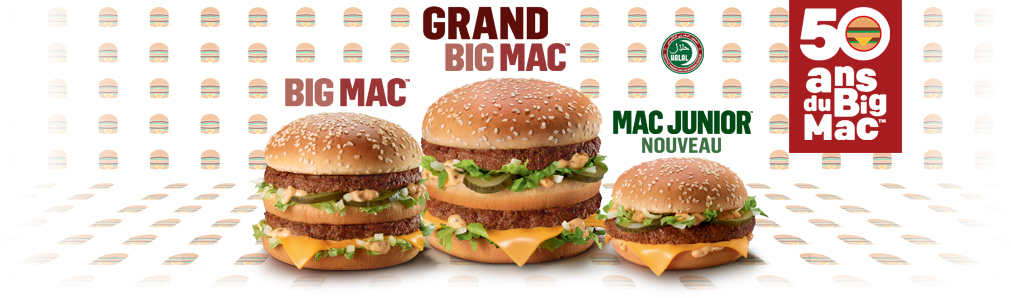 50 ans Big Mac