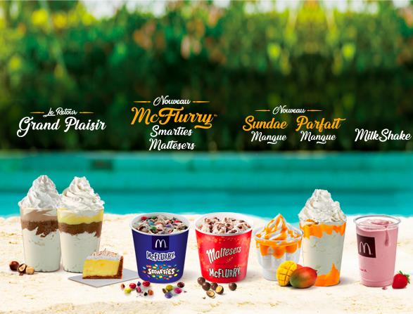 McFlurry desserts