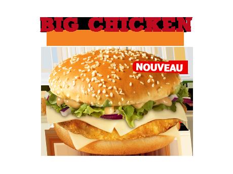 Big Chicken sauce algérienne