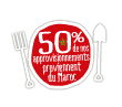 50% origine Maroc