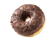 Donuts fourré au chocolat