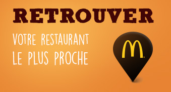 Retrouver restaurants McDONALD's