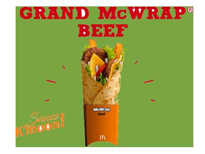 Grand McWrap® Beef Sauce K'moon