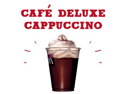 Café deluxe cappuccino
