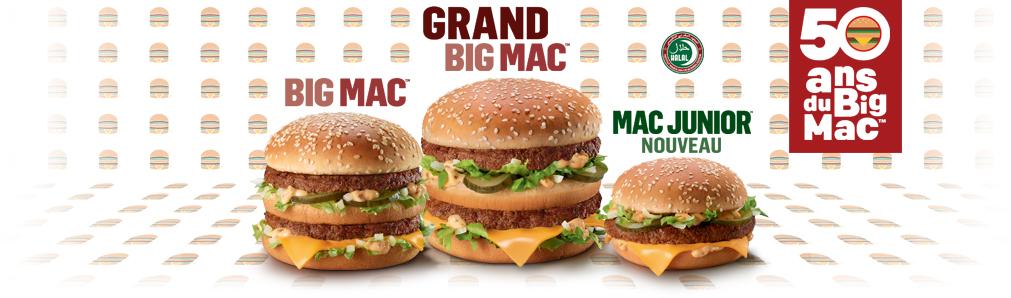 50 ans Big Mac