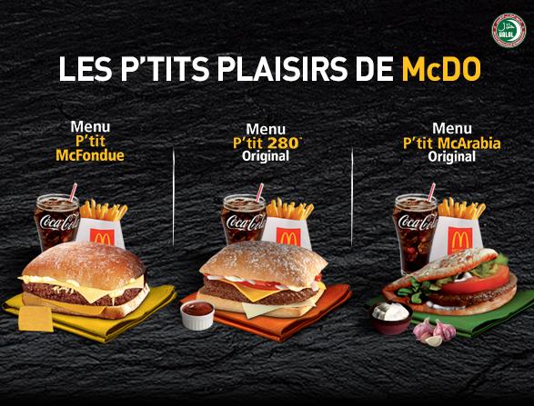 Les P'tits plaisir McDo