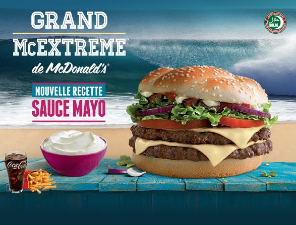 Grand McExtreme Sauce Mayo