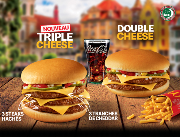 Triple Cheese Burger