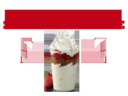 Le grand plaisir Strawberry cake