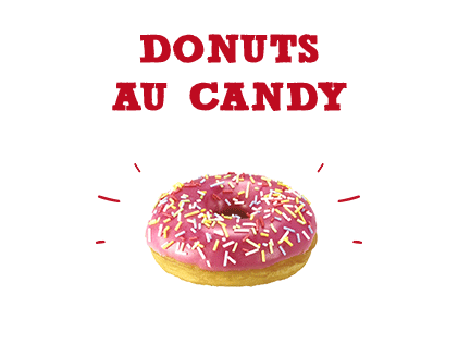 Donuts au candy