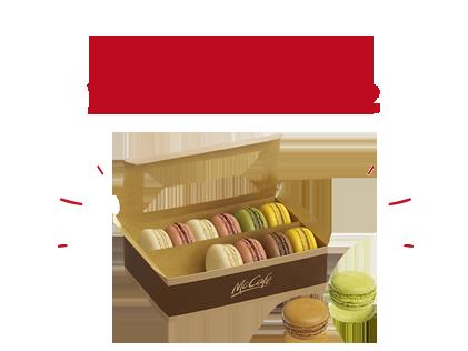 Boite de 12 Macarons