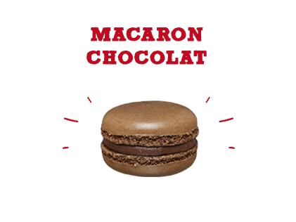 Macaron chocolat