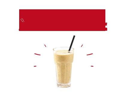 Milkshakes à la banane