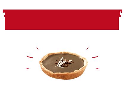 Tarte au chocolat et noissette