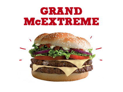 Grand McExtreme Sauce mayo