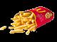 Grande portion de frites