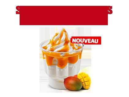 Sundae Coulis Mangue